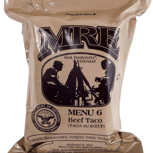 Genuine Military MRE Meals